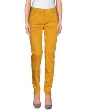 Повседневные брюки ROMANO RIDOLFI. Цвет: охра