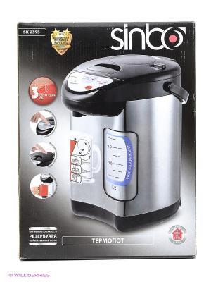 Термопот Sinbo SK 2395 3.2л. 730Вт. Цвет: серебристый