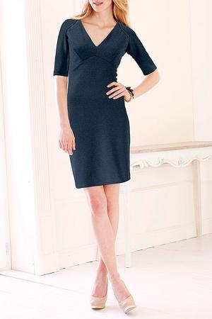 Платье MARCA-M. Цвет: серый