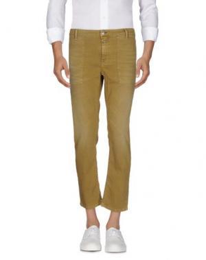 Джинсовые брюки CLOSED. Цвет: охра
