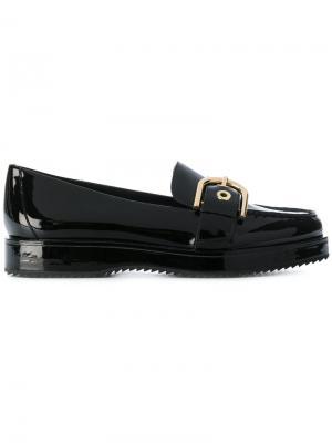 Platform loafers Michael Kors. Цвет: чёрный