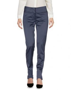 Повседневные брюки MARITHÉ + FRANÇOIS GIRBAUD. Цвет: свинцово-серый