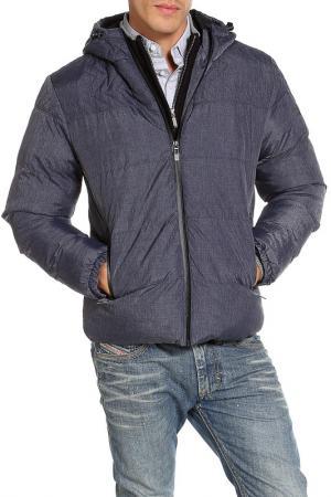 Куртка DISSIDENT. Цвет: синий