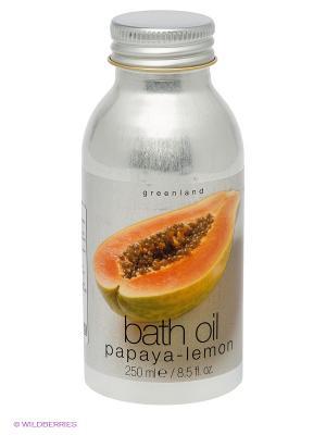 Масло для ванны, папайа-лимон, 250 мл. Greenland. Цвет: серебристый