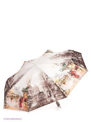 Зонт Zest. Цвет: светло-бежевый, горчичный, темно-коричневый