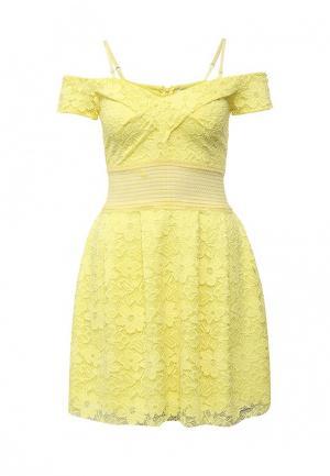 Платье Rinascimento. Цвет: желтый