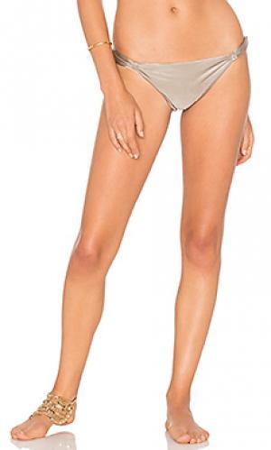 Подгоняемые плавки бикини Lenny Niemeyer. Цвет: серо-коричневый
