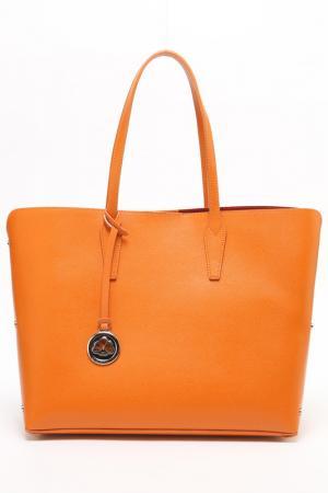 Сумка Di Gregorio. Цвет: оранжевый