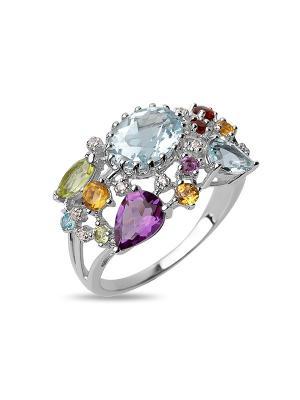 Кольцо Sandara. Цвет: серебристый
