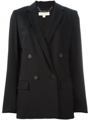 Двубортный пиджак Michael Kors. Цвет: чёрный