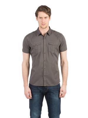 Рубашка Colin's. Цвет: антрацитовый