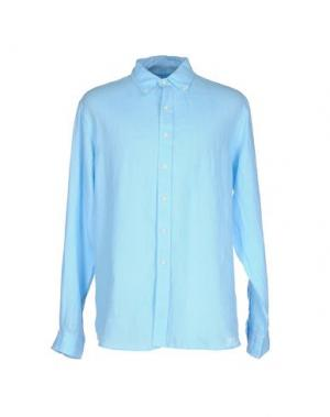 Pубашка BLUEMINT. Цвет: небесно-голубой