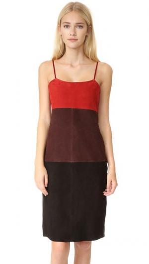 Платье Triplex VEDA. Цвет: trifecta