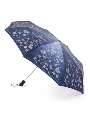 Зонт aвтомат Цветы ночью Henry Backer. Цвет: синий