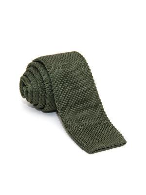 Галстук Churchill accessories. Цвет: хаки, зеленый, оливковый