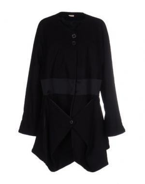 Легкое пальто MARITHÉ + FRANÇOIS GIRBAUD. Цвет: темно-синий