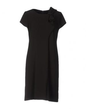 Короткое платье SUPERIOR. Цвет: стальной серый