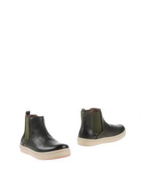 Полусапоги и высокие ботинки BISGAARD. Цвет: темно-зеленый