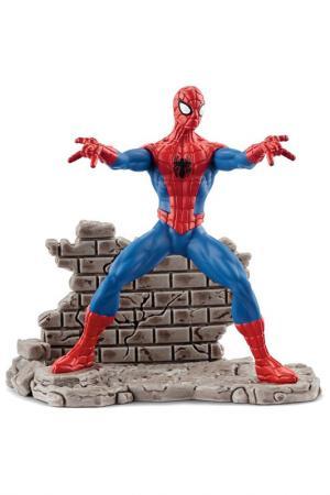Человек-паук Schleich. Цвет: красный, синий