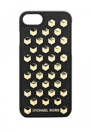 Чехол для iPhone Michael Kors. Цвет: черный