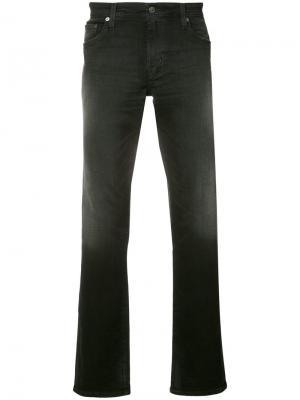 Прямые джинсы Ag Jeans. Цвет: синий