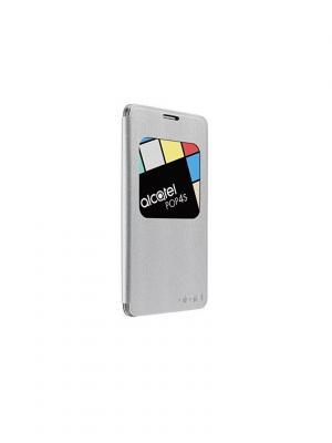 Чехол 5095 FlipCase silver Alcatel. Цвет: серебристый