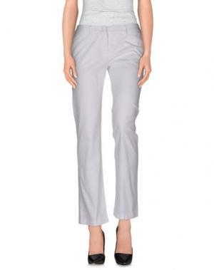 Повседневные брюки TROU AUX BICHES. Цвет: белый