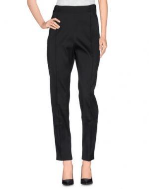 Повседневные брюки GOOD ON HEELS. Цвет: черный