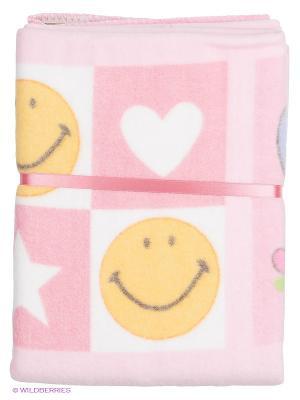 Одеяло Baby Nice. Цвет: бледно-розовый, желтый