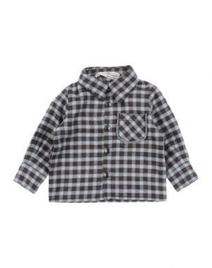 Pубашка LE PETIT COCO. Цвет: светло-коричневый