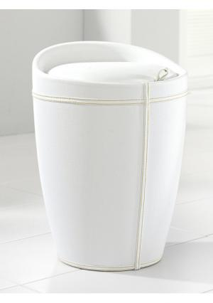 Корзина для белья Heine Home. Цвет: белый
