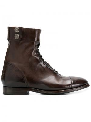 Ботинки Ursula Alberto Fasciani. Цвет: коричневый