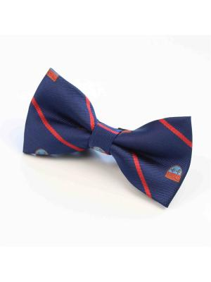 Галстук-бабочка Churchill accessories. Цвет: черный, темно-синий, синий, красный, белый