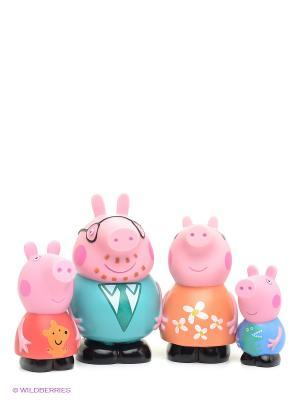 Игровой набор Семья Пеппы, Свинка Пеппа Peppa Pig. Цвет: розовый