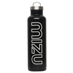 Бутылка для воды  V8 800ml Glossy Black/White Print Mizu. Цвет: черный