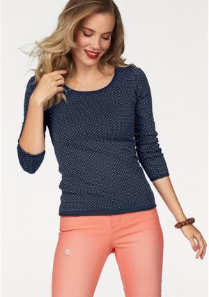 Пуловер AJC. Цвет: темно-синий/белый