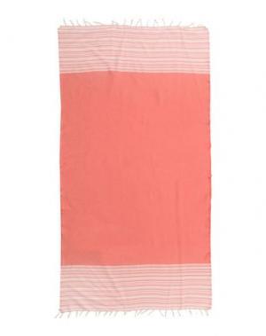 Пляжное полотенце VERDISSIMA. Цвет: коралловый