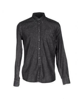 Джинсовая рубашка ÉTUDES STUDIO. Цвет: стальной серый