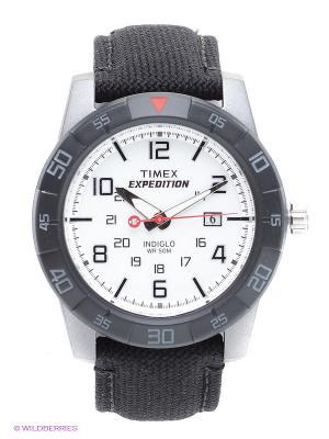 Часы TIMEX. Цвет: черный, белый