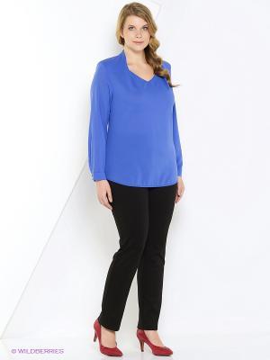 Блуза PRIZZARO. Цвет: голубой