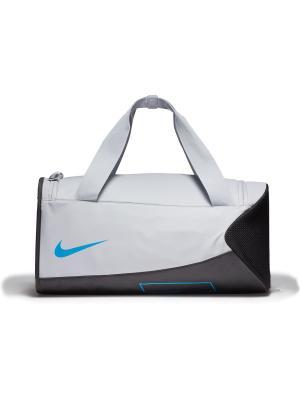 Сумка YA ALPH ADPT CRSSBDY DFFL Nike. Цвет: серый