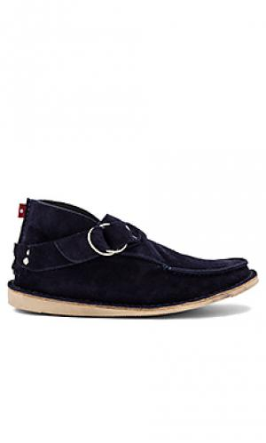 Сапоги hoboo Mark McNairy New Amsterdam. Цвет: синий