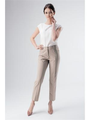 Женские брюки Fabric art. Цвет: темно-бежевый