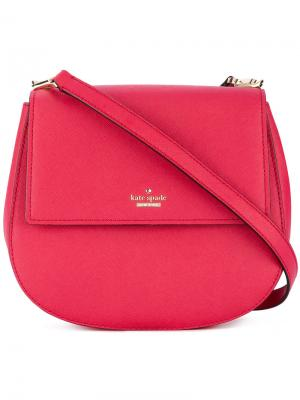 Saddle shoulder bag Kate Spade. Цвет: розовый и фиолетовый
