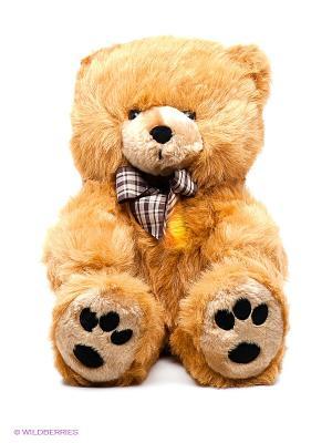 Медведь с бантом PLUSH APPLE. Цвет: коричневый