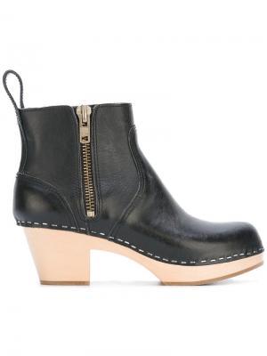 Ботинки Emy Swedish Hasbeens. Цвет: чёрный