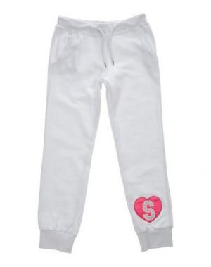 Повседневные брюки SHIKI. Цвет: белый