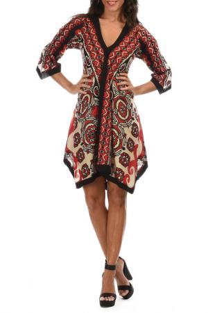 Платье Aller Simplement. Цвет: бежевый