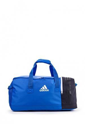 Сумка спортивная adidas. Цвет: синий
