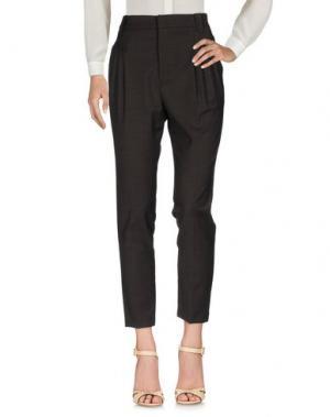 Повседневные брюки GOLD CASE. Цвет: темно-коричневый